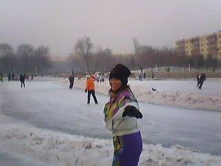 """【荷塘""""有奖金""""征文】滑冰(散文)"""